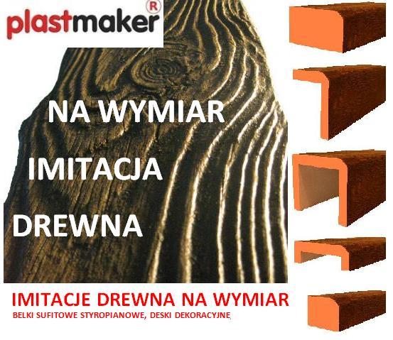 Promocja Imitacja Drewna Na Wymiar Rustykalne Belki